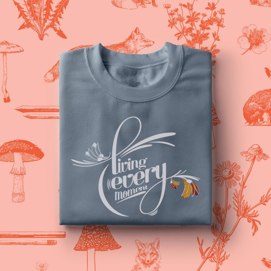 Hospice NZ – T shirt graphic
