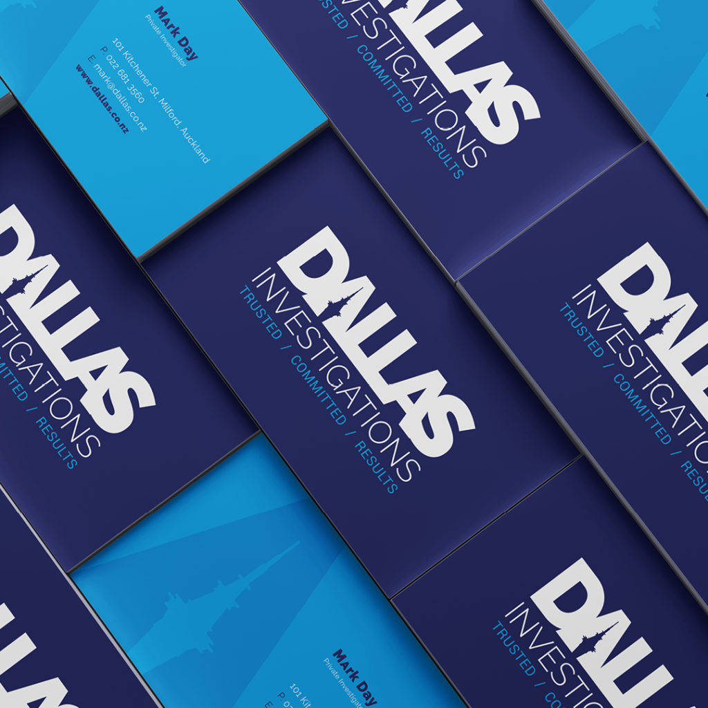 Dallas Investigations Visual Identity