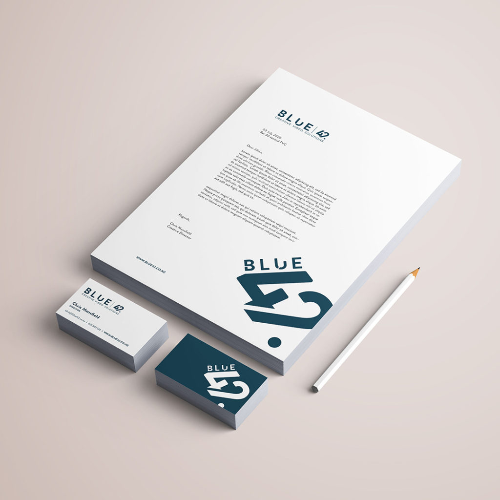 Blue 42 Logo Creation